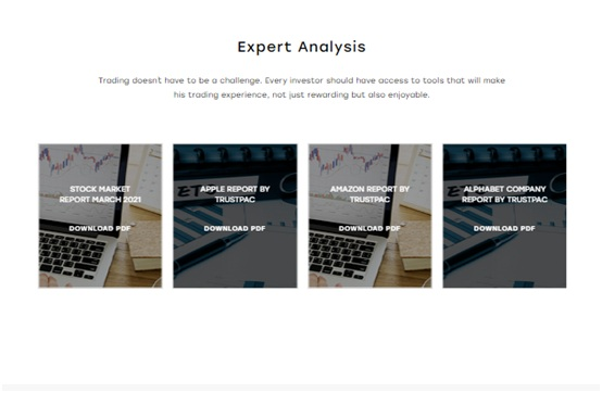 expert analysis provided by Trustpac